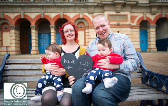 Family photo session at Alexandra Palace