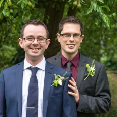 Richmond Wedding Photography, Gay wedding at the Bingham