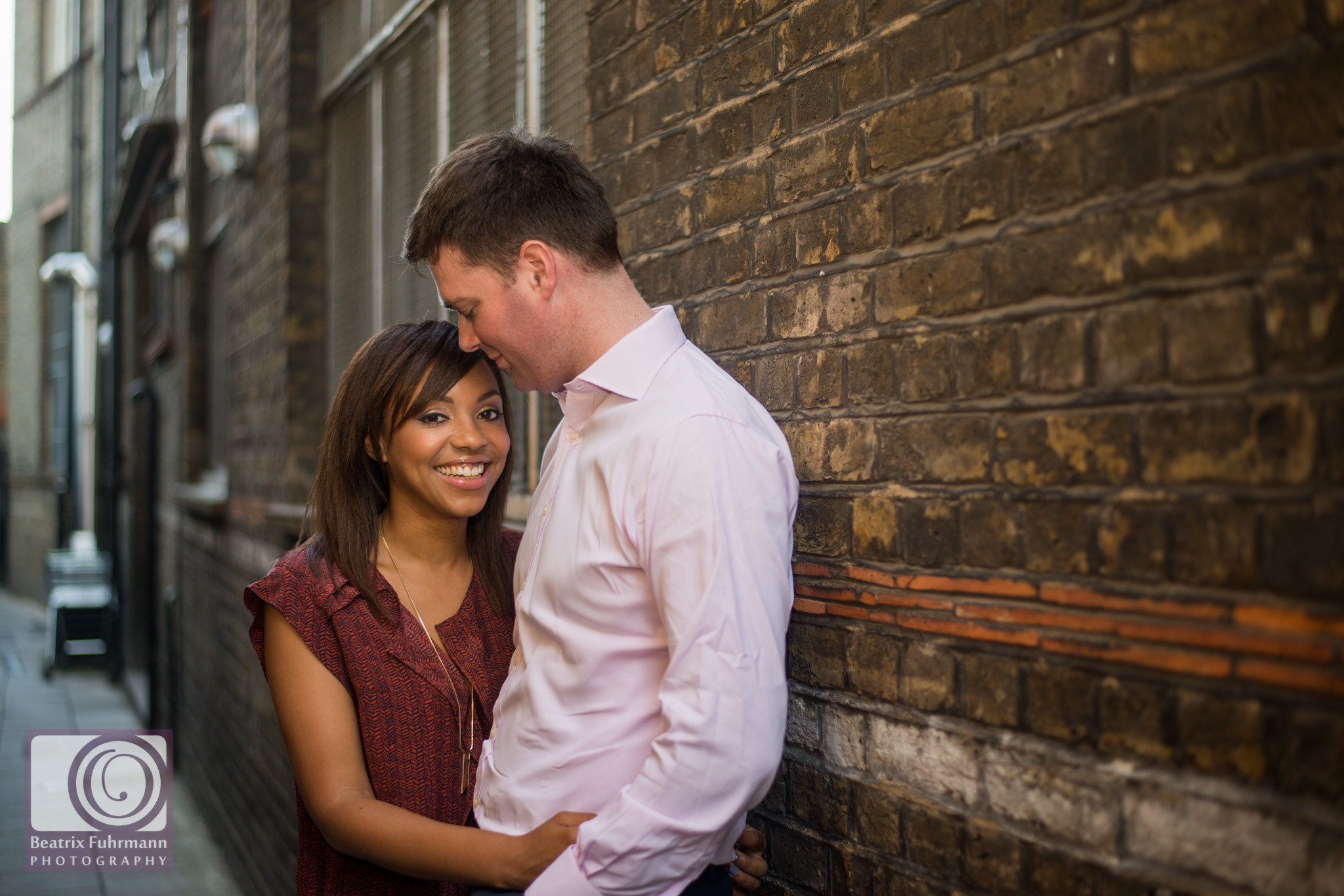 Exmouth Market engagement photography