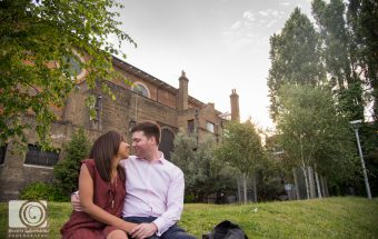 Clerkenwell Engagement Photography