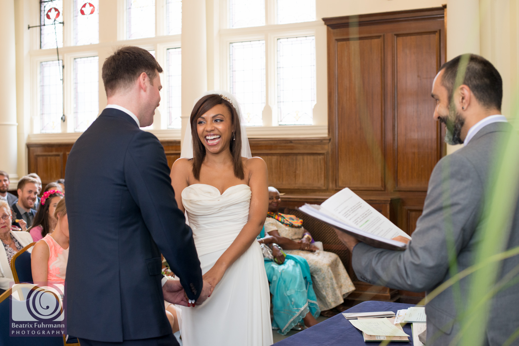 Old Finsbury Town Hall wedding