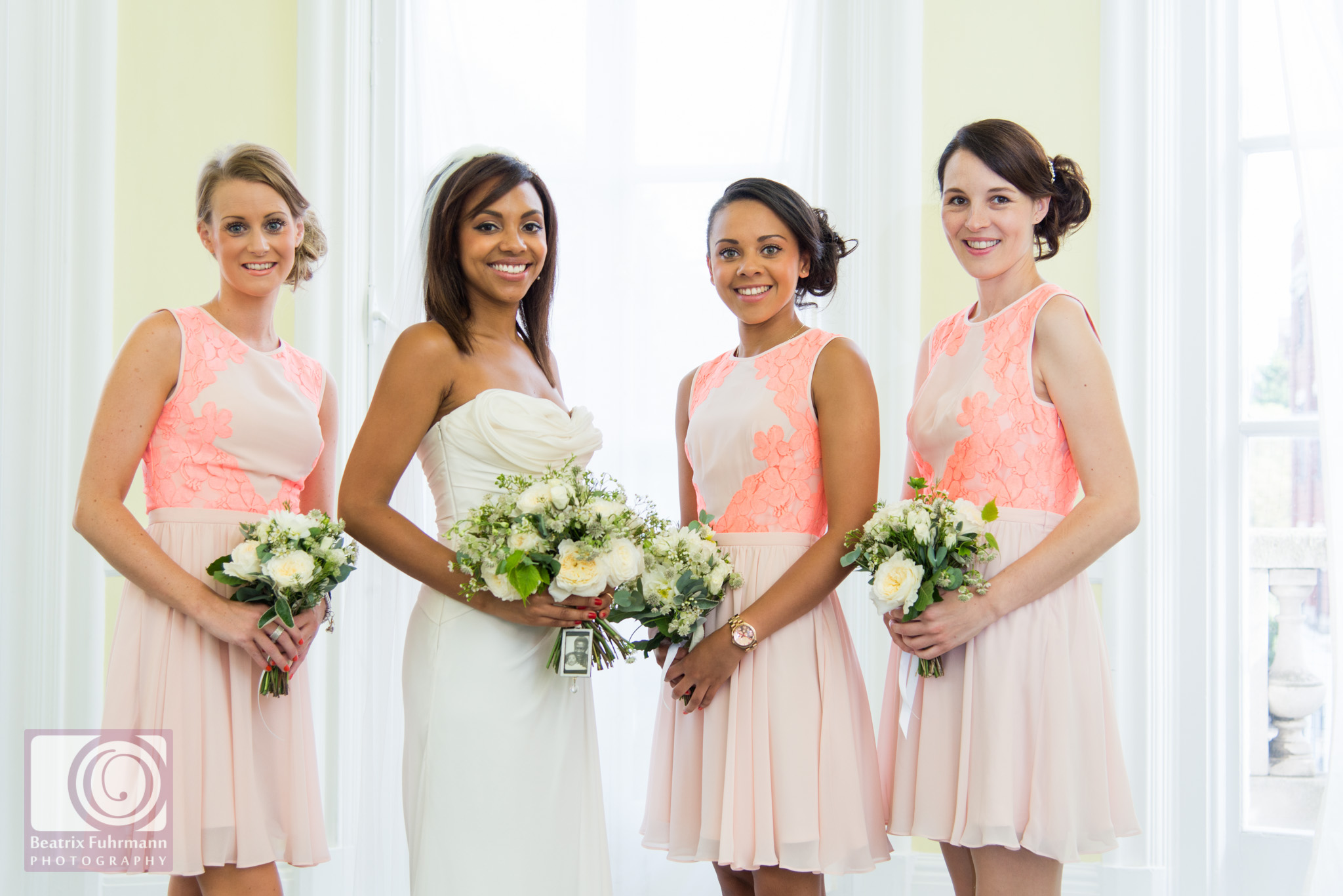 Bridesmaids at the Old Finsbury Town Hall
