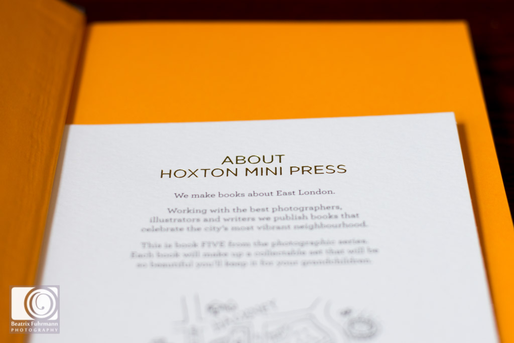 Info note about Hoxton Mini Press