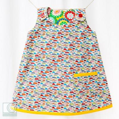 A line dress by Vincent Elvis