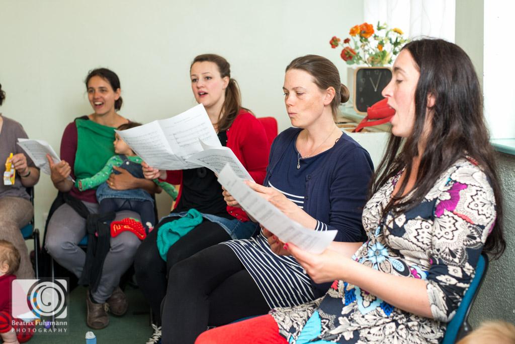 Singing mums