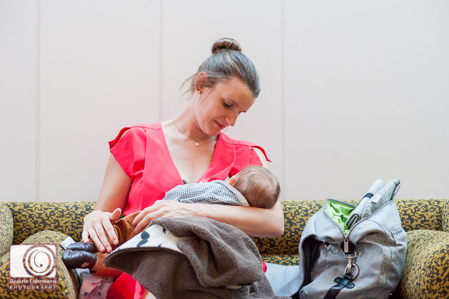 Breastfeeding mum and wedding guest