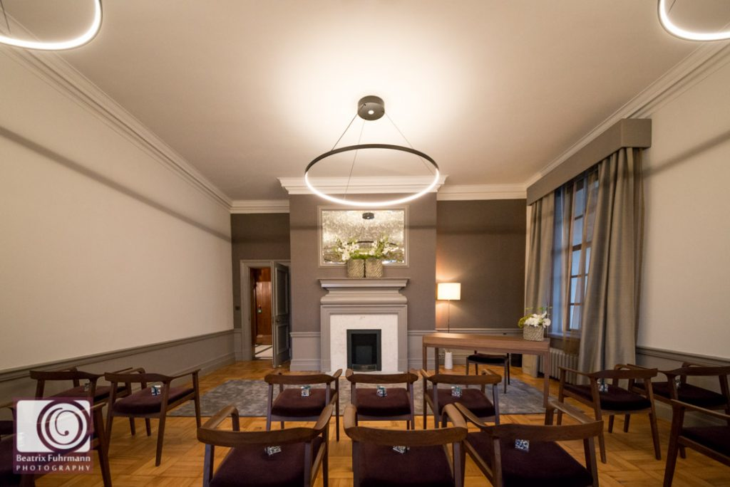 Mayfair room at the Old Marylebone Town Hall