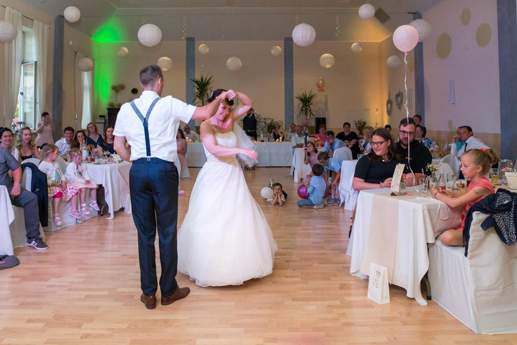 Der erste Tanz des Brautpaares