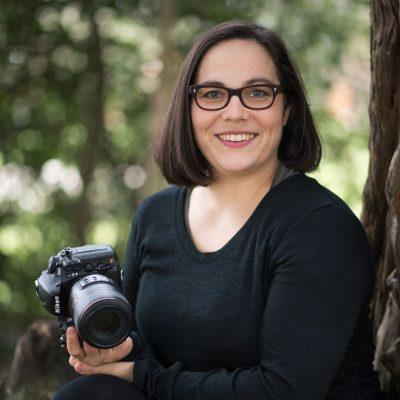 Portrait mit Kamera